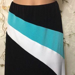Cache Skirts - ✨Caché Asymmetrical Striped Skirt